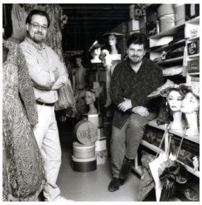 Fashion History Museum Founders Kenn Norman & Jonathan Walford