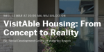 VisitAble Housing From Concept to Reality Tickets Wed 23 Mar 2016 at 10 00 AM Eventbrite